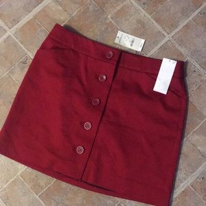 NWT Express mini skirt size women's 0